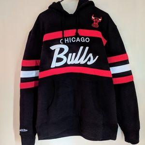 9692be9cb Mitchell & Ness Shirts - Mitchell & Ness Chicago Bulls Head Coach Hoodie